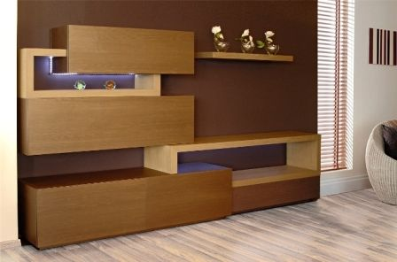 Casa Ampia-Unit kare- έπιπλο tv - καθιστικό-διακόσμηση σαλονιού-ξύλο Δρυός