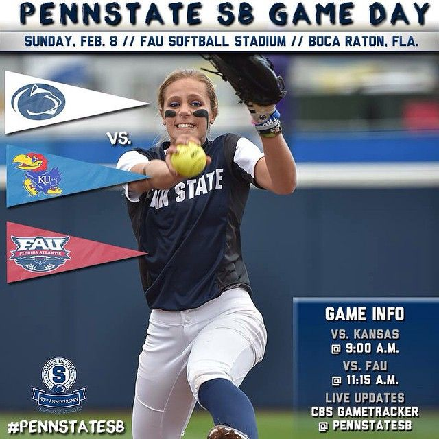 """""""To take a play out of Adrian Cronauer's book... Gooooood Moooooorniiiing State College!! Rise and shine... there is softball to be played! #WeAre…"""""""