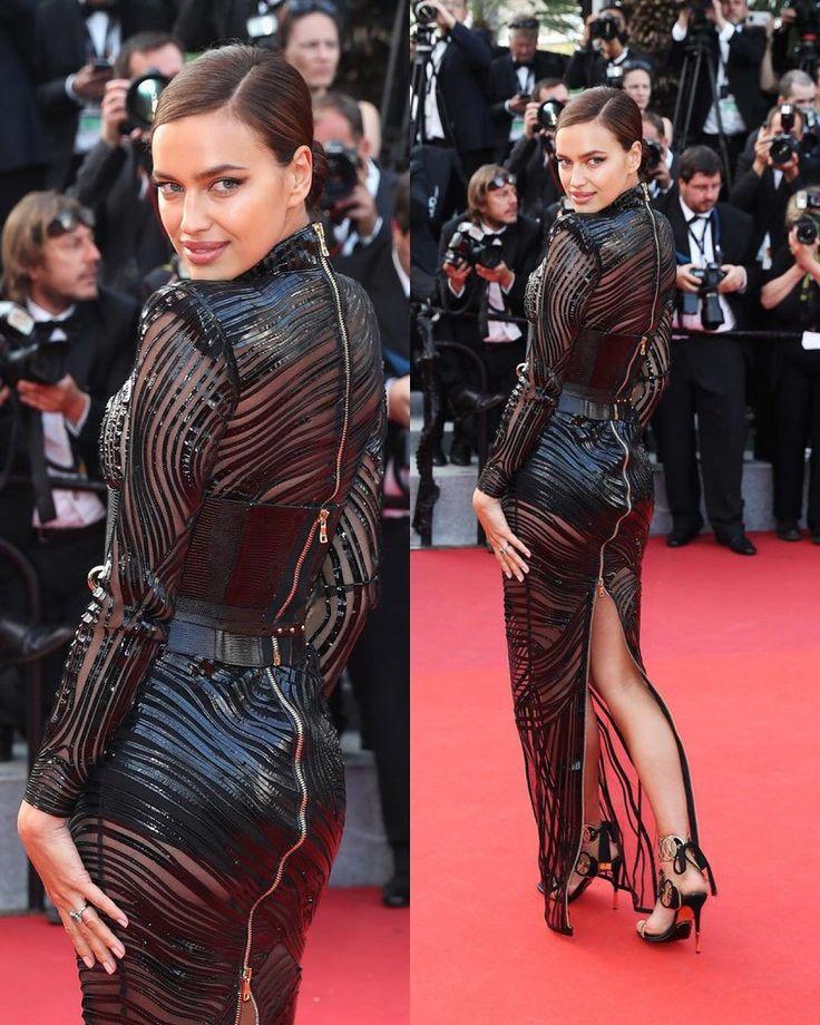 "494 отметок «Нравится», 9 комментариев — IrinaShayk (@4irinashayk) в Instagram: «#New Irina Shayk in the dress Balmain at the premiere of the film ""Fatal temptation"" at the 70th…»"