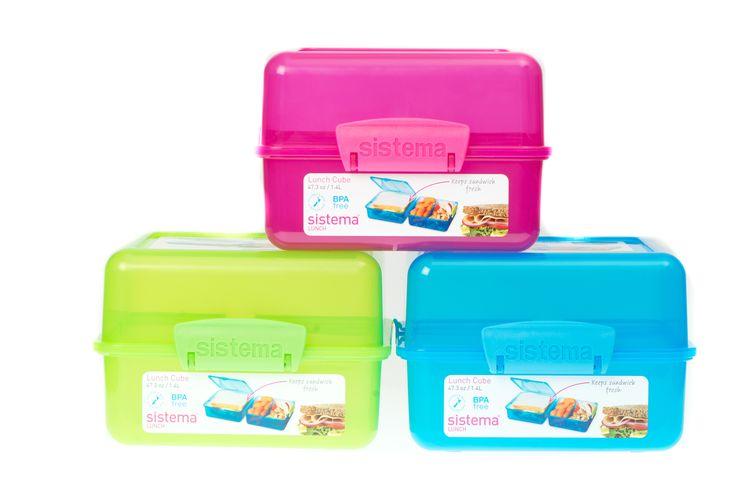Sistema Cube Lunchbox R89 Plasticland 014 537 2694
