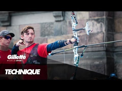 Perfecting Archery Technique with Zach Garrett | Gillette World Sport - YouTube