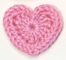 #Free patterns; crochet; hearts - 3 sizes ~~