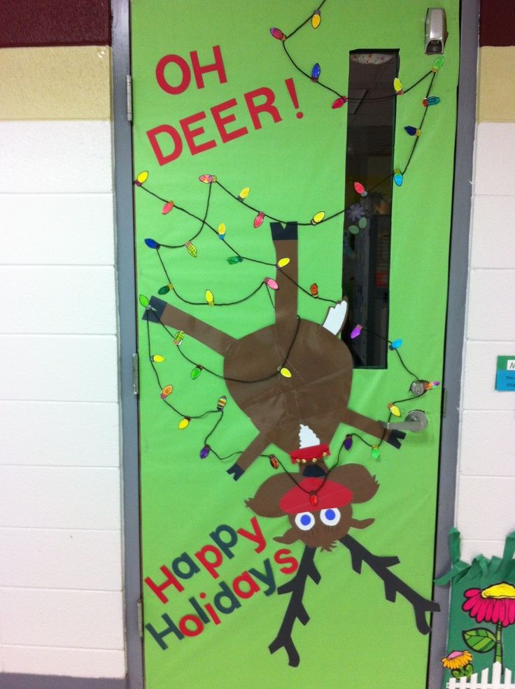Classroom Decor Christmas ~ Best bulletin board doors images on pinterest