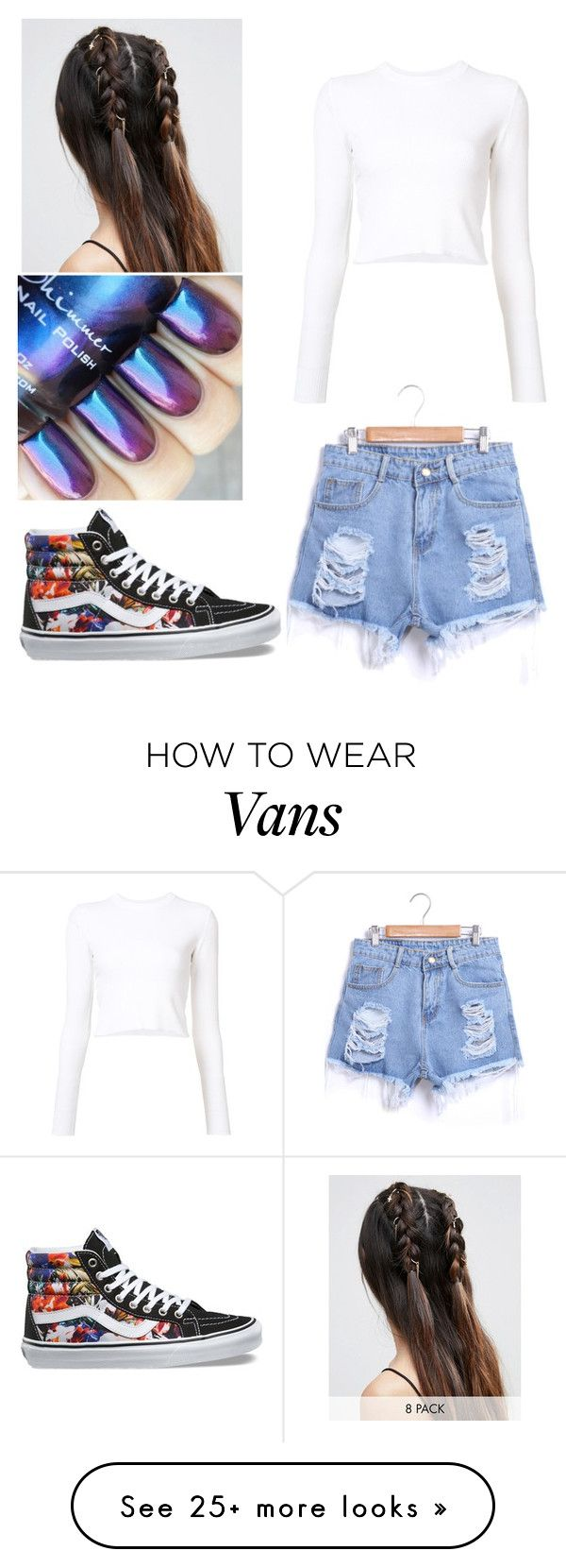 """""""Untitled #149"""" by lili-xxx on Polyvore featuring Proenza Schouler, Vans and ASOS"""