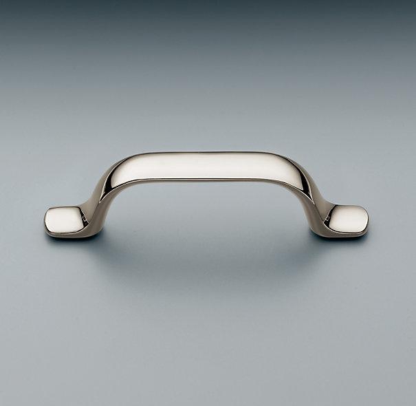 rh adeline pullfluid rounded lines define our adeline collection restoration hardware - Restoration Hardware Kitchen Cabinet Pulls
