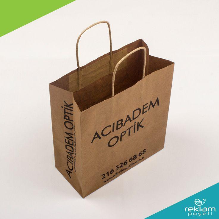 Reklam Poşeti - Ürünlerimiz - Kağıt Poşet Paper Bags