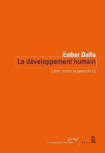 Lutter contre la pauvreté : Tome 1, Le développement humain de Esther Duflo, EUR 7,21