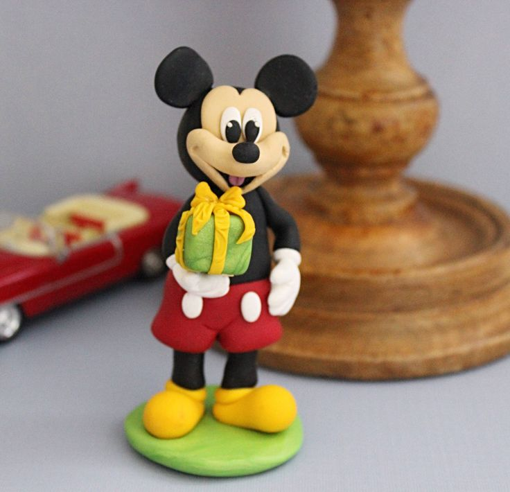 The 25 best Mickey mouse cake topper ideas on Pinterest Mini