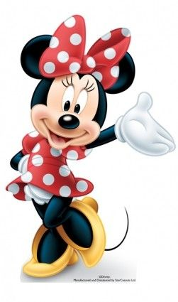 Greet your guests at the door with this life size Minnie Mouse for only £18.58
