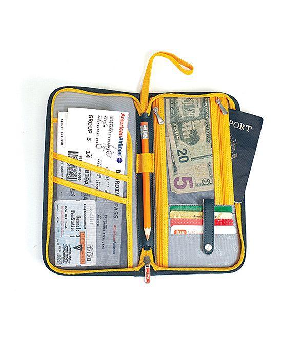 Lug Fog Gray Scout Travel Wallet