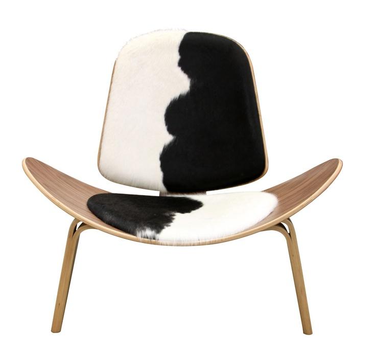 Mattblatt com au files product images 4348 shell chair cowhide web jpg
