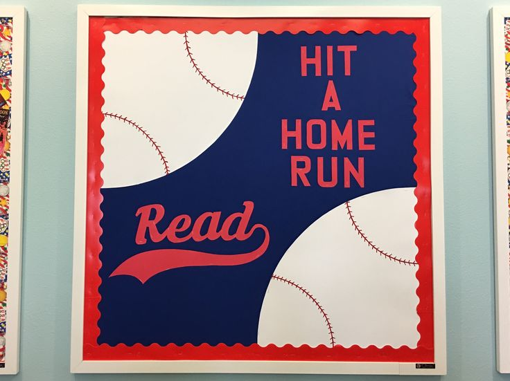 McMillan Memorial Library Overton TX SRP 2016 Baseball Sports Theme On Your Mark, Get Set, Read - Get In the Game, Read #SRP2016