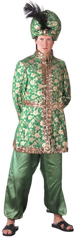 Arabian Sultan Costume Aladdin Harem Turban Hat Middle Eastern Prince HQ 90922 | eBay