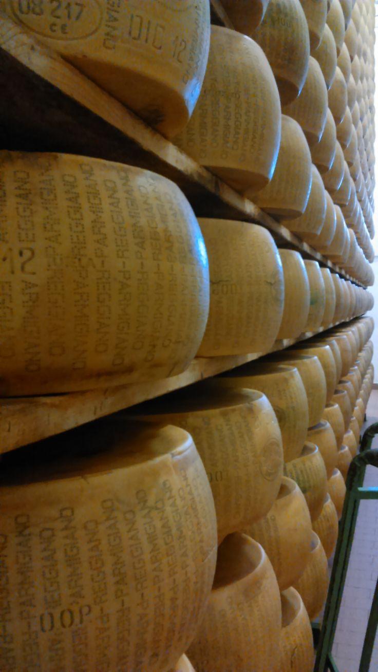Parmiggiano Reggiano, Parma, Italy