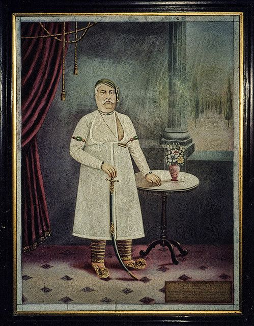 Wajid Ali Shah, last Nawab of Awadh lived in exile in Bengal
