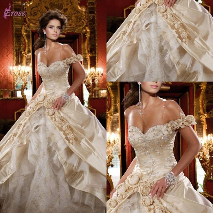 16 best images about luxury wedding dresses on Pinterest