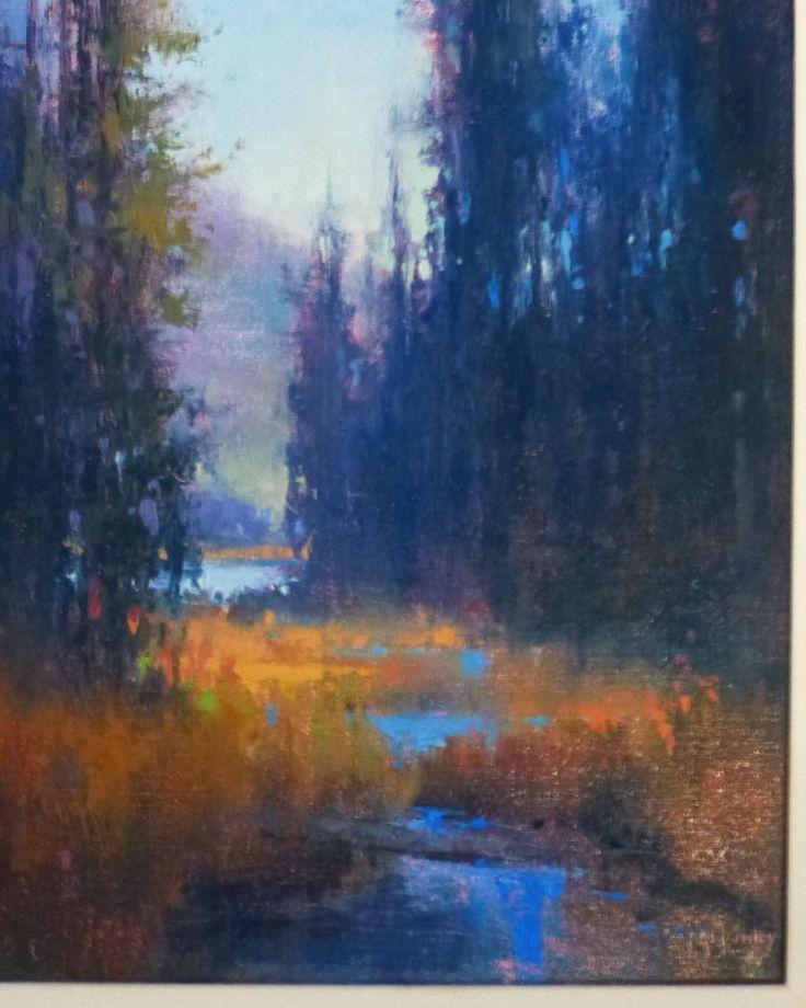 Richard Mckinley Original Oil Painting Impressionist