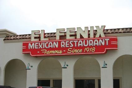 Favorite of all!  El Fenix in Dallas, Texas...