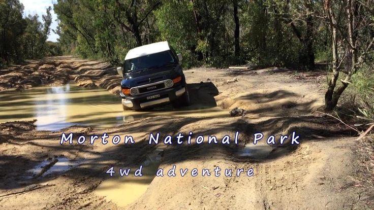 Morton National Park - Monkey Gum Trail - Muddy Road #mud #4x4 #australia #offroad