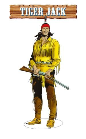 Tiger Jack : un personaggio del fumetto western Tex Willer