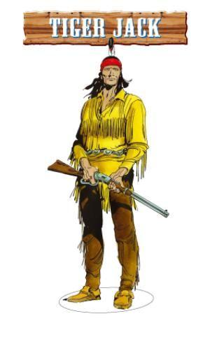 Tiger Jack : un personaggio del fumetto western Tex Willer