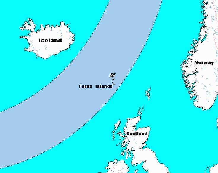 De Faeröer eilanden?