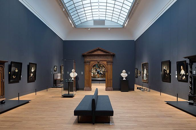 Gallery the Young Rembrandt - photo by Iwan Baan