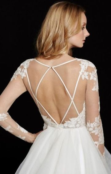 Robe Mona de Hayley Paige d'occasion - Paris | Robes de mariée d'occasion | Scoop.it