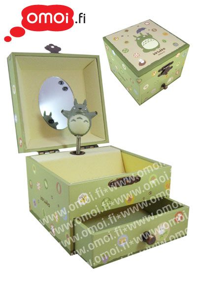 Totoro Music Jewellery Box - 42,50EUR : Omoi.fi, anime, manga ja cult oheistuotteiden verkkokauppa