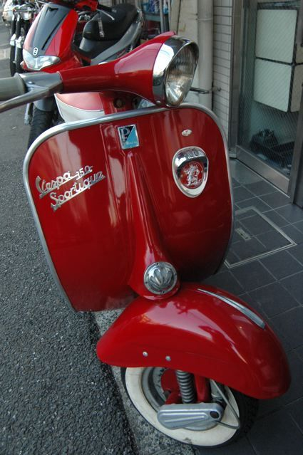 Douglas vespa 150 sportique my dream garage pinterest for Garage scooter nice
