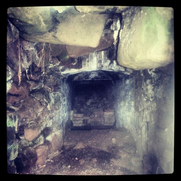 Inside the ice house at Hartlebury Castle #Worcestershire