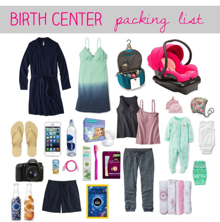 Life Alaskan Style: my [birth center] packing list