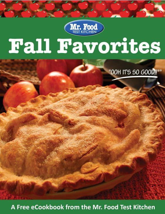 Mr. Food Fall Favorites free eCookbook | MrFood.com