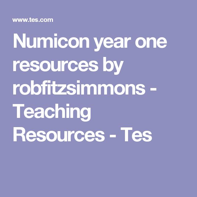 Numicon year one resources by robfitzsimmons - Teaching Resources - Tes