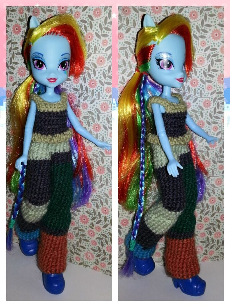 989 Best Crochet Doll Clothes And Etc Images On Pinterest