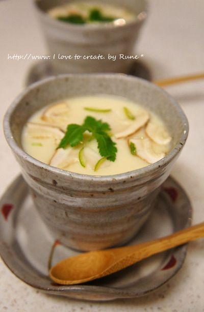 朝食にフエボス ランチェロス&松茸茶碗蒸しでおもてなし。。 by Rune ...