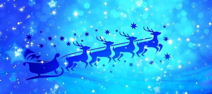 Santa, Rénszarvas, Karácsony, Claus