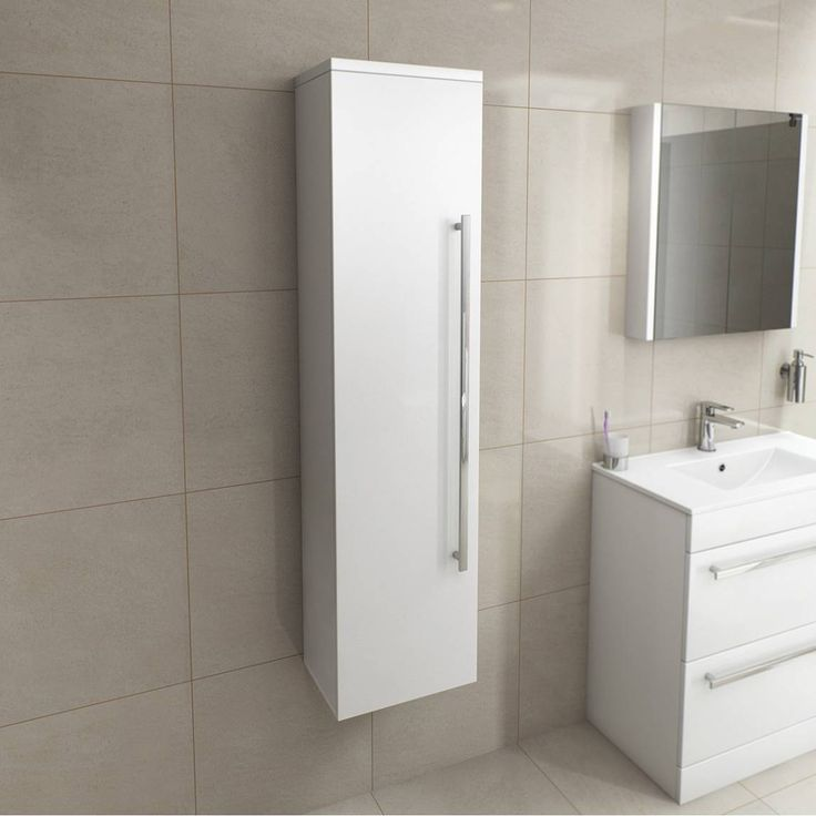 Create a designer look in your bathroom with the Tall Wall Unit  Provides  plenty of. 36 best New Bathroom images on Pinterest   Basins  Bathroom