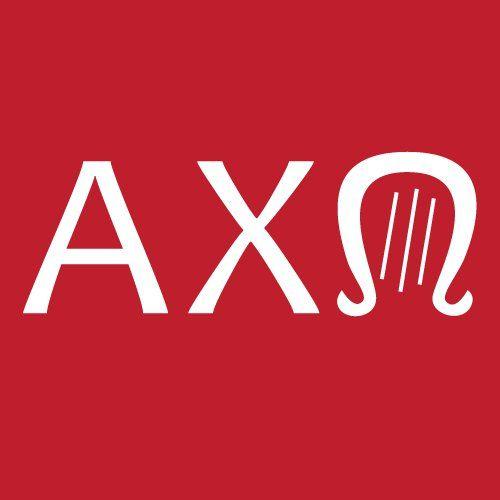 A-X-Up side down Lyre! (brilliant!) - Alpha Chi Omega