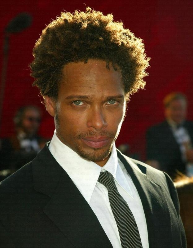 Gary Dourdan...his eyes get him in the candy dish.