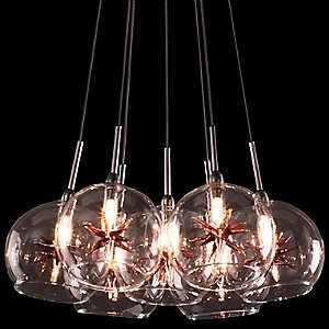 Starburst Cluster Pendant by ET2: Dining Rooms, Cluster Pendants, Starburst Cluster, Lights Today, Lights Pendants, Cluster Lights, Et2 Lights, Pendants Lights, 7Light Pendants