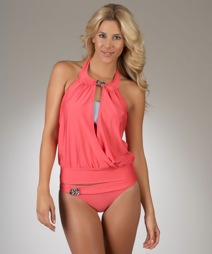 Luxe by Lisa Vogel Designer Swimwear | 2012 Women's Swimwear..... Usually don't like a lot of one piece bathing suits but this is adorable!!!