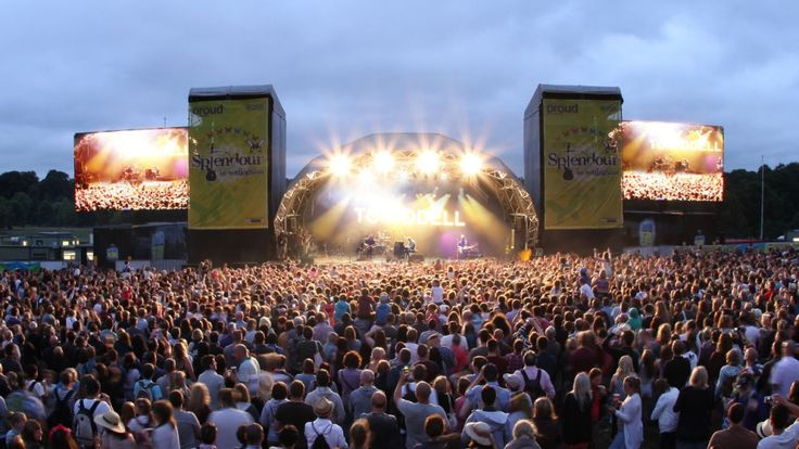 Splendour Festival Nottingham 2015 with Confetti