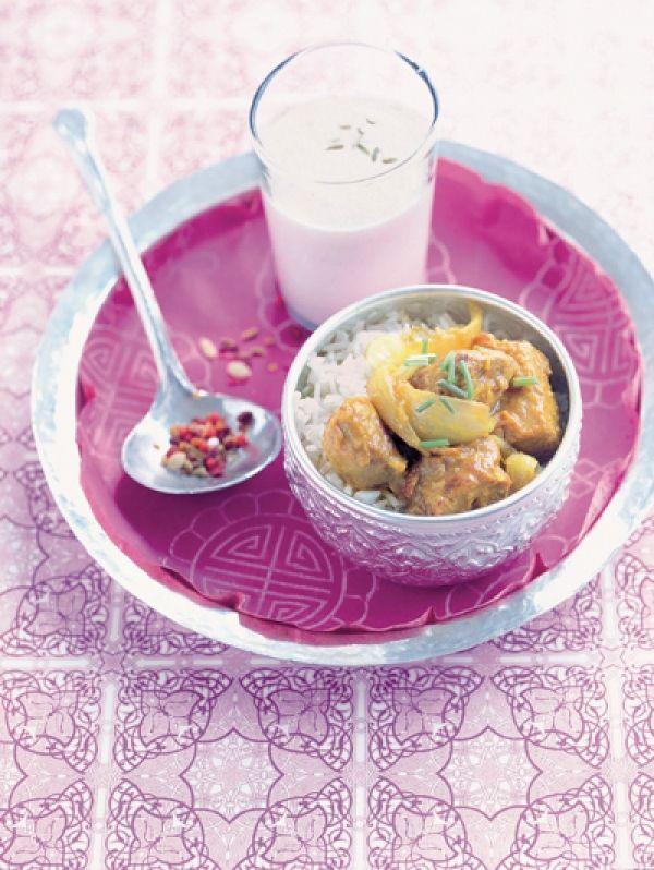 Indiaas lamsvlees voor 4 personen • 30 min bereidingstijd (+ 1
