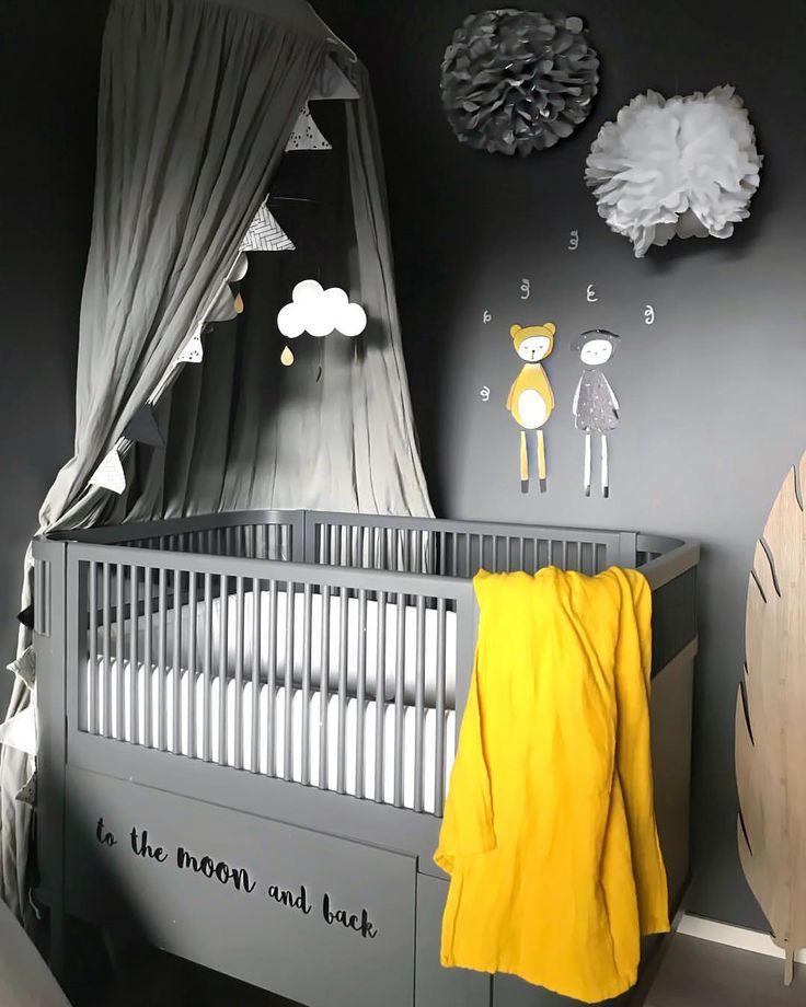 Die besten 25+ Grau gelbe kinderzimmer Ideen auf Pinterest - babyzimmer graustreifen