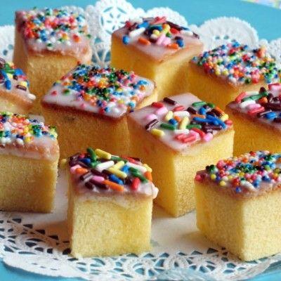 Tiny Teacakes