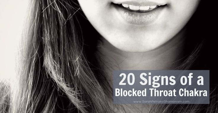 Feeling unwell with allergies and sinus infections? Having trouble saying  what you feel? Get the 20 most common signs of a throat chakra blockage.