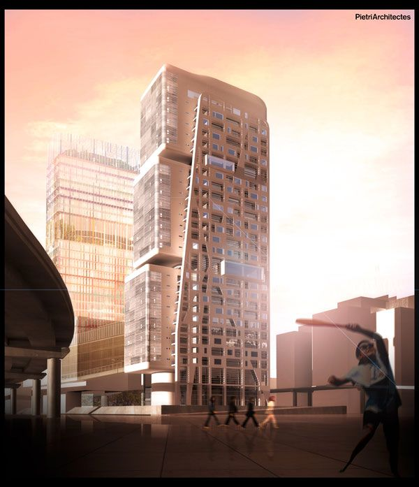 The H99 skyscraper: rethinking vertical housing in Marseille Designed by Jean-Baptiste Pietri