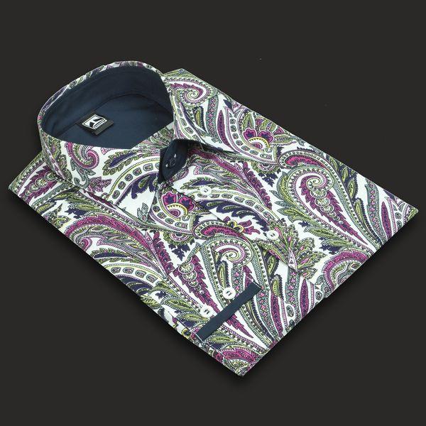 """M Herrenhemd """"Paisley"""" Größe M von TRINKGELD Feinste Hemden für wunderbare Männer auf DaWanda.com"""