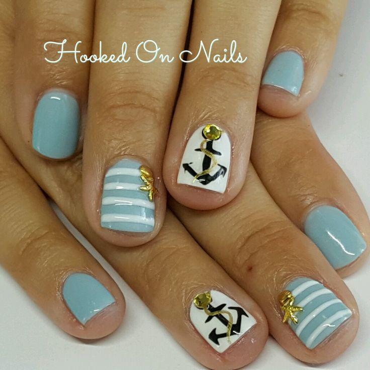 Blue Nail Polish The Block: 1000+ Ideas About Sky Blue Nails On Pinterest